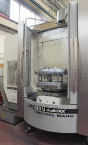 Una delle macchine presenti nell'attrezzeria di Eurostampi. L'azienda investe costantemente in nuove tecnologie