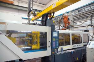Il reparto di stampaggio è dotato di presse automatizzate. Il peso di questa attività sui ricavi complessivi di Eurostampi è attualmente del 23%