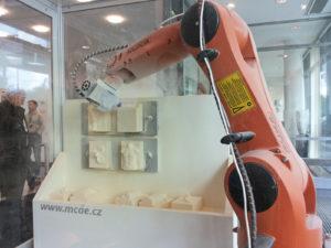 Un robot in azione
