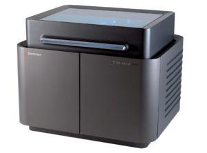 La nuova Objet500 Connex3 che permette di stampare a colori con tre materiali differenti contemporaneamente