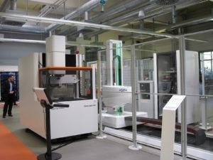 Transformer Automation System 3R  è il sistema di automazione scalabile e basato su moduli standardizzati presentato in anteprima all'ITS di Schorndorf da GF Machining Solutions