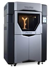 Sistema di produzione Fortus 450mc: tutta la potenza della fabbricazione digitale diretta per la produzione di bassi volumi