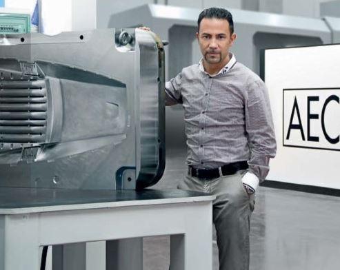Leonardo Lotti, molds & die casting manager in AEC Illuminazione.