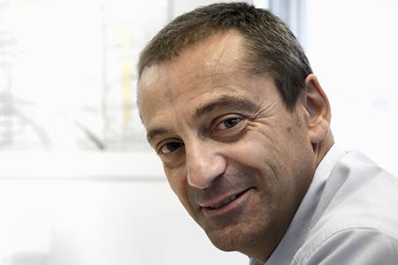 Alessandro Cini, general manager di AEC Illuminazione di Subbiano (AR).