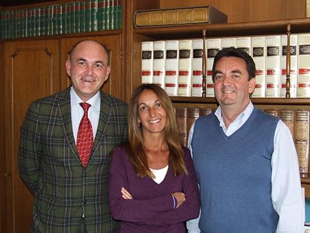 I tre fratelli Bertolo, da circa vent'anni al timone di Bsa: da sinistra Massimo, Alessandra, Fabrizio.