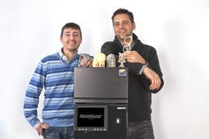 Andrea Dotta e Andrea Gié, fondatori e soci della Smart3D.net di Valenza.