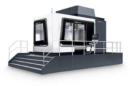 Anteprima mondiale: DMU 210 P 2nd Generation 2nd generation con 5X torqueMASTER® per prestazioni di taglio elevate con coppia di 1.300 Nm