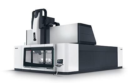 Anteprima mondiale: DMU 600 G linear Macchina Gantry con motori lineari sugli assi X, Y e Z per qualità superficiale senza rivali