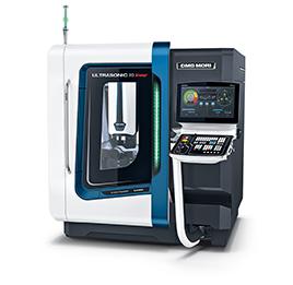 Anteprima mondiale: ULTRASONIC 20 linear 2nd Generation Rettificatrice a 5 assi estremamente compatta di advanced materials in combinazione con una fresatrice HSC di ultima generazione