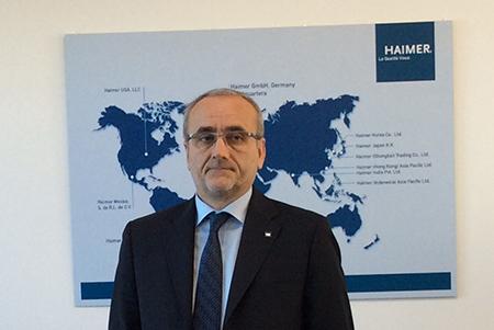 Massimo Amati, direttore generale di Haimer Italia.