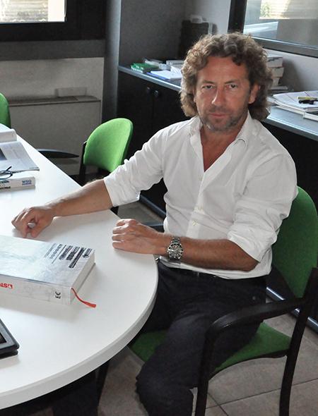 Emilio Pagani, titolare della Nts Tech di Vizzolo Predabissi (MI).