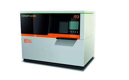 La Concept Laser M2, distribuita in Italia da Ridix, permette di usare l'acciaio Marging per la realizzazione di stampi.