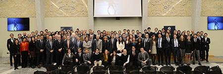La cerimonia di apertura dell'edizione 2015 del Master biennale in Automazione Industriale, realizzato in collaborazione con il Politecnico di Torino, che punta alla formazione di figure professionali altamente specializzate.