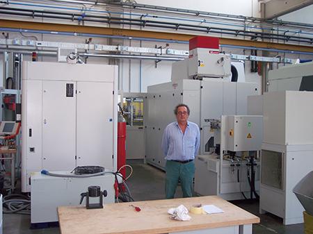 Il Dottor Eugenio Siena, titolare e attuatore della riorganizzazione aziendale all'insegna dell'automazione.