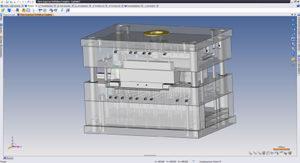 Il modulo TopSolid'Moud consente a Officina Merlin di velocizzare la progettazione dei propri stampi.