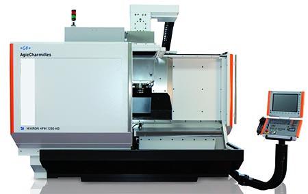 Il centro di lavorazione Mikron HPM 1200 HD è stato acquisito da Lanson per ampliare ulteriormente il range operativo per realizzare stampi di dimensioni fino a 1.200 x 600 mm.