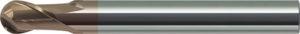 Tra le frese adottate da Delta Moulds per la finitura delle chiusure stampo figura anche la sferica in metallo duro integrale, serie EPBT 2080 di MMC-Hitachi Tool.