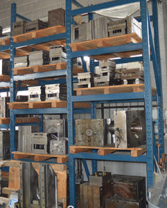 Numerosi e diversificati i settori serviti con competenza e professionalità dalla Officina Merlin di Saronno (VA).