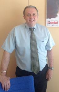 Maurizio Righetti, direttore commerciale di Omlat.