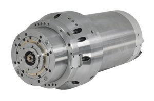 Elettromandrino HSK-A63: 100 kW - 100 Nm - 30.000 giri/min.