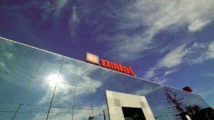 La sede Omlat, a Ceresole d'Alba (CN).
