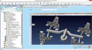 Integrazione del modello 3D CAD dal preventivo alla gestione della commessa.