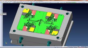 Visi Mould per progettazione 3D dello stampo.