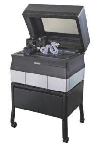 Objet30 Prime è ideale per la prototipazione di beni ed elettronica di consumo, dispositivi medici, stampi e così via.