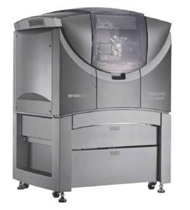 Il flusso di lavoro ottimizzato della Objet260 Connex 2 permette di abbassare notevolmente il TCO di questo sistema di stampa, soprattutto grazie alla rimozione automatizzata del supporto e la sostituzione dei materiali con il sistema in funzione.