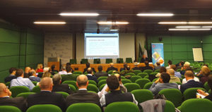 """Il convegno """"Materie plastiche: mercati e tendenze"""" organizzato da TMP presso la sede di Confindustria Monza a metà novembre."""