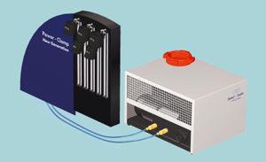 Sulla macchina per il calettamento Power Clamp Premium di Haimer il raffreddamento avviene per contatto e non per immersione.