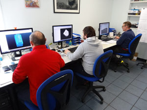 Programmazione CAD-CAM all'interno dell'ufficio tecnico.