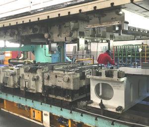 Linee di stampaggio P&C Automotive.