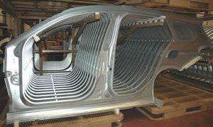 Nuova Stame è oggi in grado di realizzare stampi per qualunque parte in lamiera della carrozzeria di un veicolo.