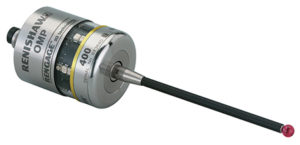 Tastatore ottico OMP400 con tecnologia estensimetrica RENGAGE™.