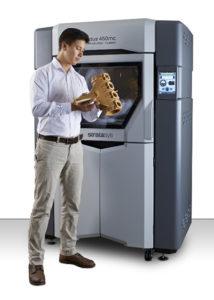 La stampante 3D Stratasys Fortus 450mc è la soluzione ideale per le applicazioni di fabbricazione più esigenti e permette di realizzare strumenti di produzione ad alte prestazioni, maschere e staffaggi e parti di produzione finali con livelli di precisione e resistenza senza eguali.