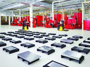 Vista reparto di produzione Hasco.