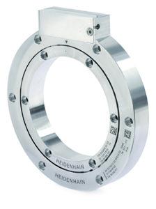 Trasduttori rotativi induttivi ECI4000 e EBI4000 di HEIDENHAIN per il montaggio diretto con alberi cavi del diametro di 90mm.
