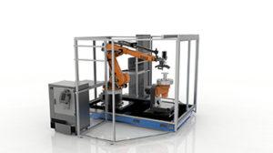 """Il dimostratore Robotic Composite 3D di Stratasys svela un approccio ibrido per la produzione automatizzata di pezzi compositi che esce dalla mentalità di """"stampa a strati"""" e consente di ottenere il pieno valore della fabbricazione additiva, da applicare alle strutture composite ad alto valore, rendendole più leggere che mai."""