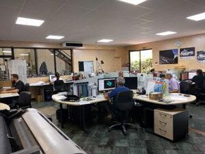 Vista ufficio tecnico di Omsaf.