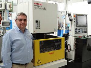Gualtiero Seva, Sales Manager RM di Fanuc Italia S.r.l. (Arese, MI).